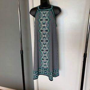 like new Max Studio tribal geometric dress (7/$35)